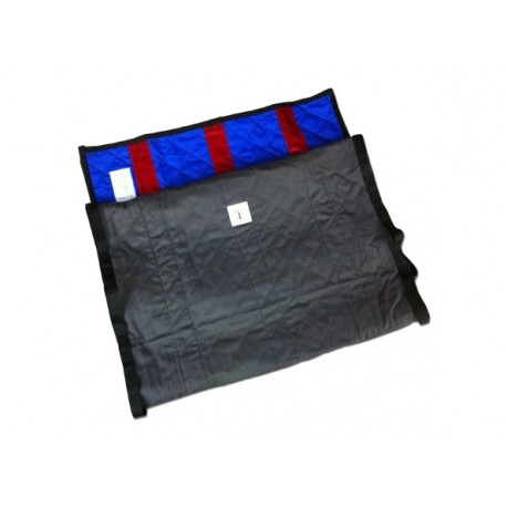 LOCOMOTOR QUILTED FLAT UNI-SLIDE BED